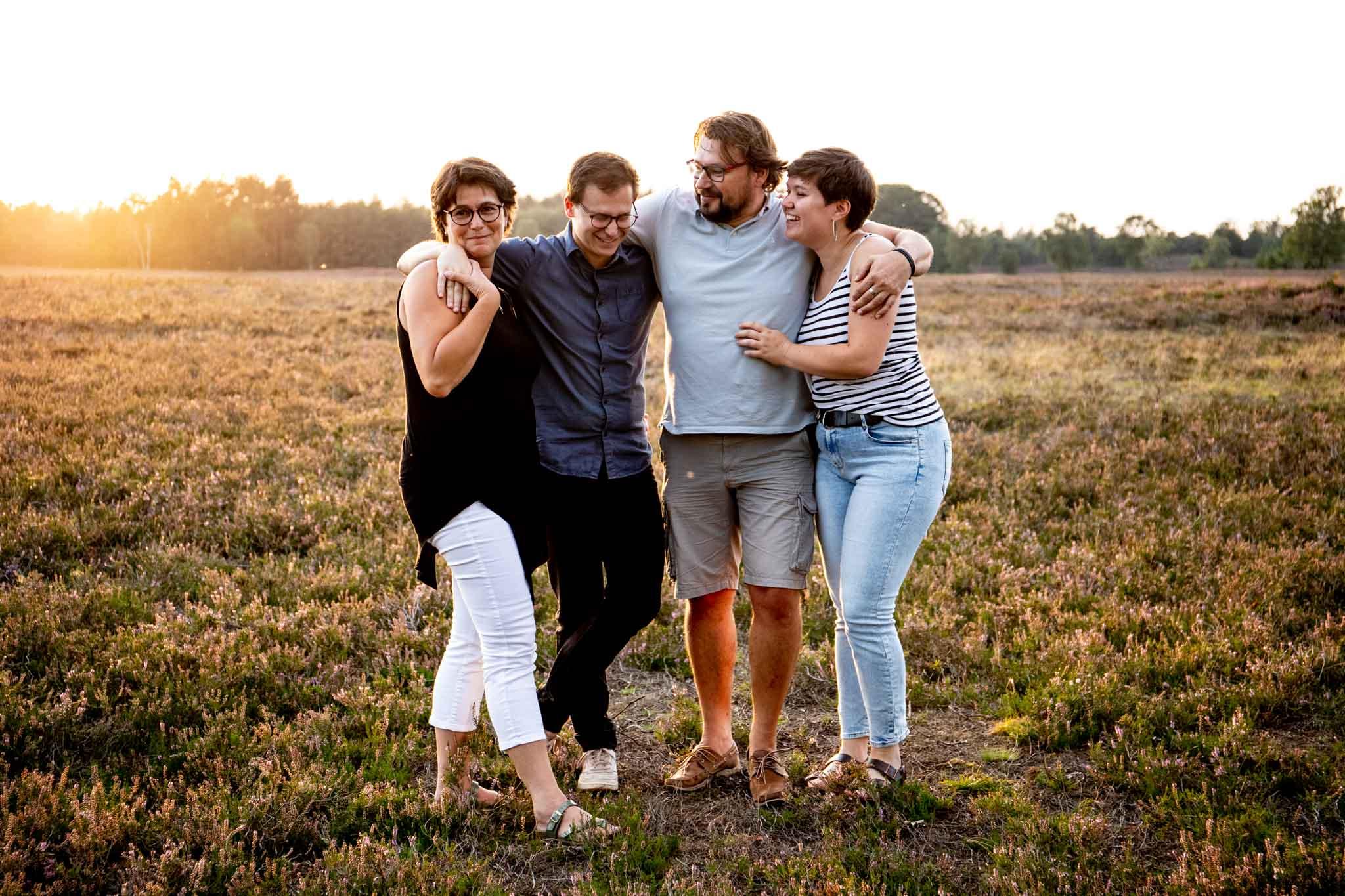 Familieshoot, gezinsshoot, heerde, heide